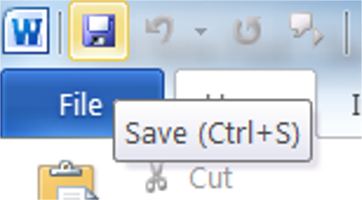 Floppy disk save icon